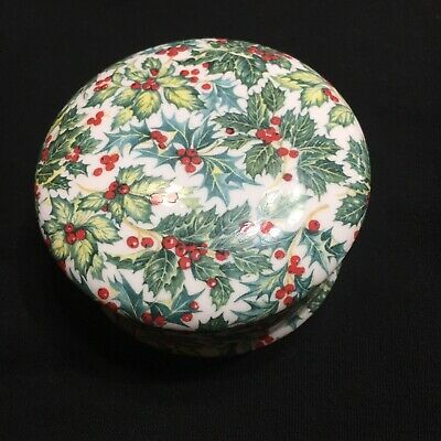 Chintz Collection Royale Garden Staffordshire Made In England Trinket Dish