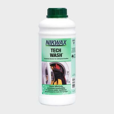 New NIKWAX Tech Wash 1L for Wet Weather Clothing and Equipment