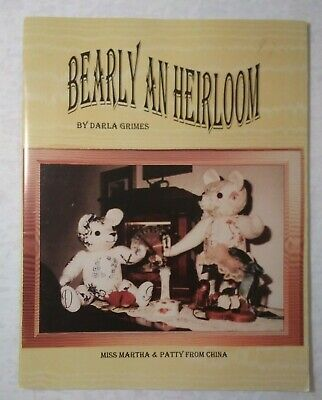 Bearly An Heirloom Needle Craft Bear Pattern Book Darla Grimes techniques