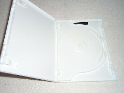 2-Disc empty WHITE DVD CASE REPLACEMENT
