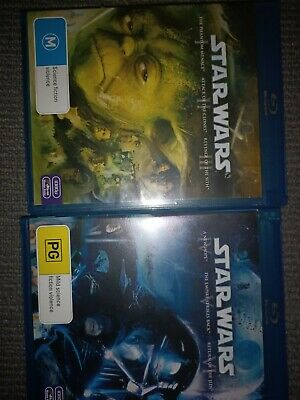 Star Wars Trilogy - A New Hope / Empire Strikes Back / Return Of The Jedi (DVD,…