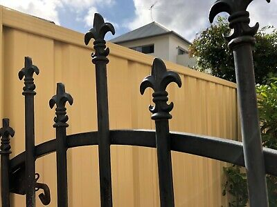 Bespoke Wrought Iron Gate, great condition