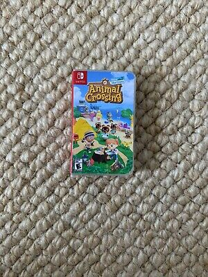 Animal Crossing New Horizons Handmade Game Cartridge Case For Nintendo Switch