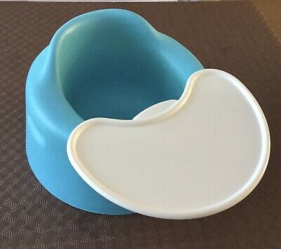 Blue Bumbo Set With Tray
