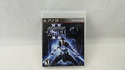 Star Wars The Force Unleashed II Playstation 3 PS3 - Complete W Manual