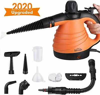 SIMBR [Upgrade] Handheld Steam Cleaner, Multipurpose Steam Cleaner 350ML with 9