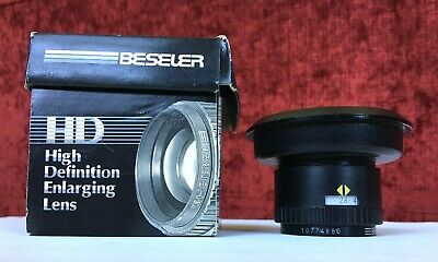 Beseler / Rodenstock F2.8 50Mm Hd Enlarger Lens / With Adapter Ring