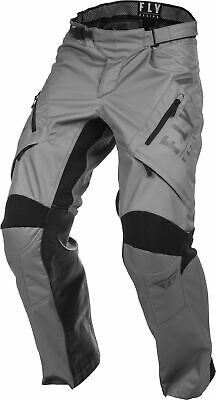 Fly Racing Patrol XC Mens Over the Boot MX Offroad Pants Gray