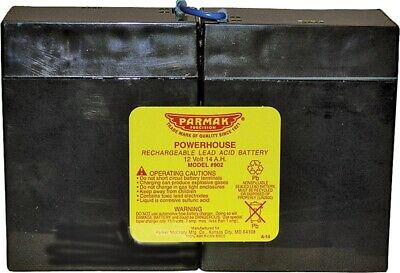NEW Parker mccrory mfg company 902 12-Volt Rechargeable Battery 0410605