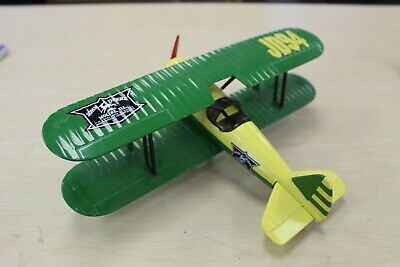 John Deere Airplane Coin Bank Spec Cast JD94 Limited Edition Vintage Collectable