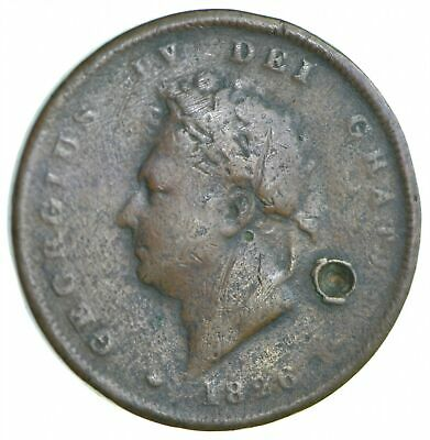 Better Date - 1826 Great Britain 1 Penny *070