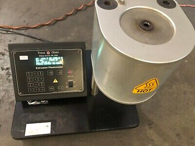 Tinius Olsen Extrusion Plastometer Model MP600,