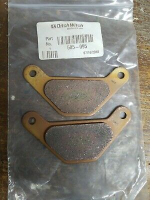 505-095 Ditchwitch Parking brake pads