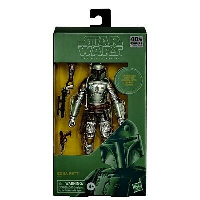 "Star Wars Black Series 6"" Carbonized Boba Fett 40th Anniversary *PRE-ORDER*"