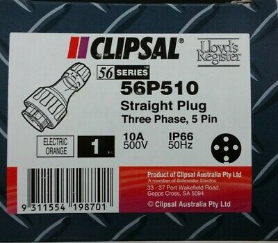Clipsal 56 Series 56P510 Straight Plug