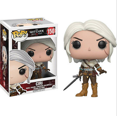 Funko pop! The Witcher #150 Ciri Nine Vinyl Figure collection In Box New