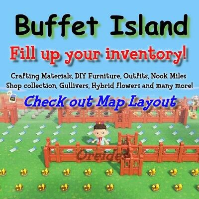 Animal Crossing New Horizons, Buffet, All you can grab, Bells, Materials, NMT