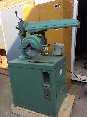 Multico Radial Arm Saw, Model C3 3 Phase Fitted Brake