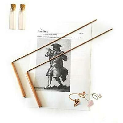 Dowsing Rod Copper -Solid Material 99% - Ghost Hunting, Divining Water, Gold,