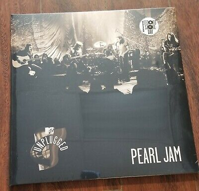 Pearl Jam RSD Vinyl MTV Unplugged Record Store Day Black Friday Rare