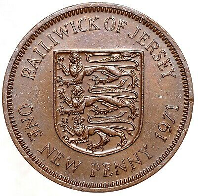 GREAT BRITAIN 1 Penny One Penny 1971 №5524