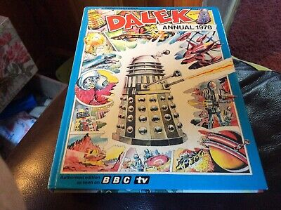 Beautiful Condition Dalek Annual 1978 Terry Nations. Unclipped..