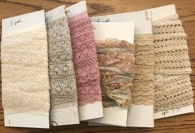LOT ANTIQUE Beautiful And Hard To Find VINTAGE LACE TRIM
