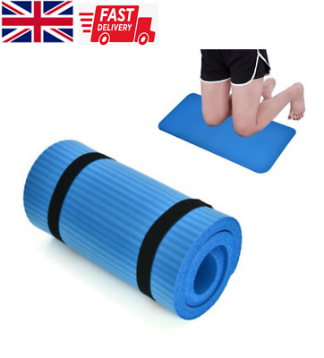 Yoga Mat Support Pad Extra Thick Blue Non-slip Pad Exercise Knee Elbow Support