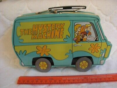 Scooby Doo The Mystery Machine tin lunchbox Hanna Barbera 2000
