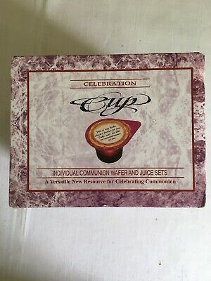 Celebration Cup - Prefilled Communion Cups With 100 Juice and 100 Wafers