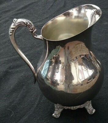 Very Nice F. B. Rogers Silver Co Pattern 3707 Silverplate Water Pitcher