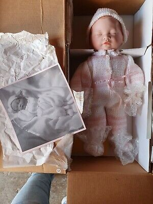 Ashton Drake ' Beautiful Newborn' baby porcelain doll. First Issue