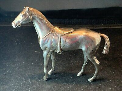 Jennings Brothers - Rare Antique Silver Plated Horse Figurine