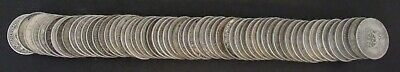Lot of 60 Great Britain 1 Shillings .500 Silver