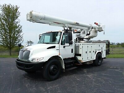 Material Handling ALTEC L45M 2008 International 4300 Bucket Truck Handler Jib