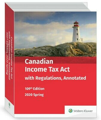 Introduction to Federal Income Taxation in Canada and Canadian Income Tax Act...
