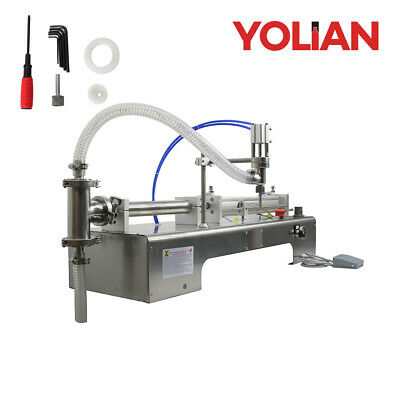 20-280ml One Head Liquid Spray Filling Machine Pnuematic Pistion Alcohol Filler