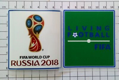 Coupe du Monde Russie 2018 Patch Badge + patch Living Football FIFA France