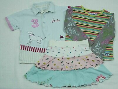 Girls Joules Top And Skirt Bundle Size 6 - 7 Yrs Vgc