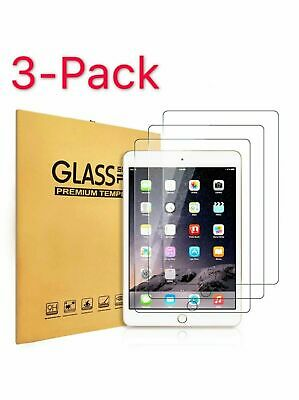 3PCS Tempered GLASS Screen Protector For iPad Mini Pro Air 9.7 10.2 5th 6th 7th