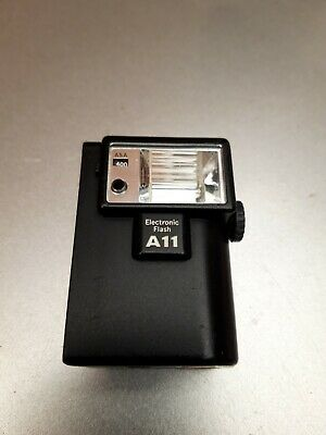 Olympus Electronic Flash A11 for XA Series - Good Working Condition