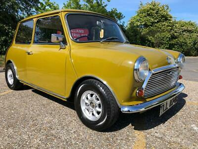 1977 Austin Mini 850cc. Harvest Gold. Only 44k. Matching numbers.