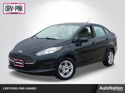 2018 Ford Fiesta SE 2018 Ford Fiesta SE Front Wheel Drive 1.6L I4 16V Automatic 41740 Miles