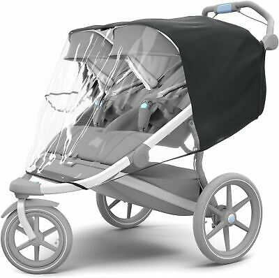 Thule URBAN GLIDE RAIN COVER DOUBLE Pushchair/Stroller/Buggy Accessory - NEW