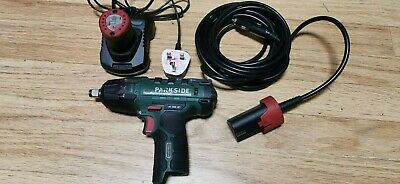 Parkside Hybrid Cordless Impact Wrench PHSSA 12-Li A1 with Battery and Charger