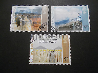 GB 1971 Commemorative Stamps~Ulster~Very Fine Used Set~ex fdc~UK Seller