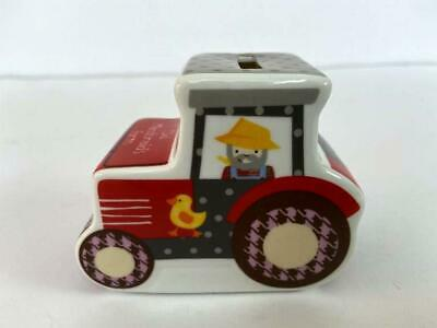 Little Rhymes Old Macdonald's Tractor Shape Farm Money Box by Churchill