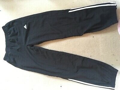 Adidas Girls tracksuit trousers or joggers 13-14