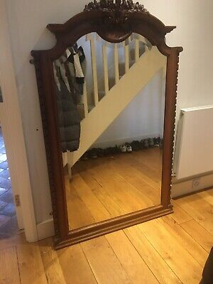 Ornate Antique French Carved Mirror