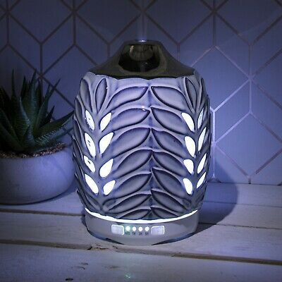 Silver Leaf Design Essential Oil Home Fragrance Aroma Air Purifier Humidifier
